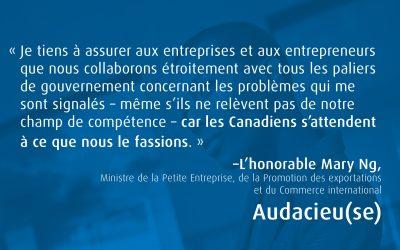 Audacieu(se): La résilience soutenue des petites entreprises canadiennes