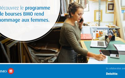 Le programme de bourse BMO rend hommage aux femmes