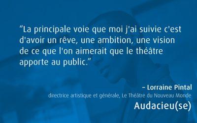 Audacieu(se)  En conversation avec une vraie icône culturelle québécoise