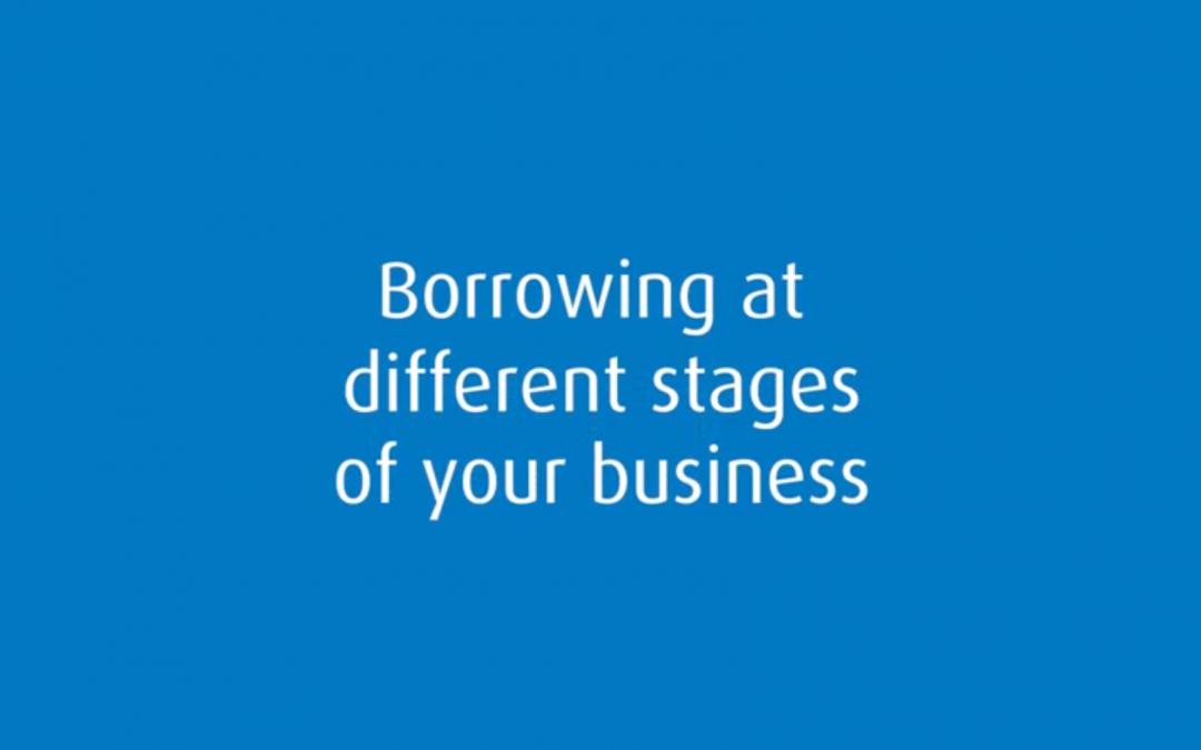 Emprunter aux différentes étapes de la vie de son entreprise