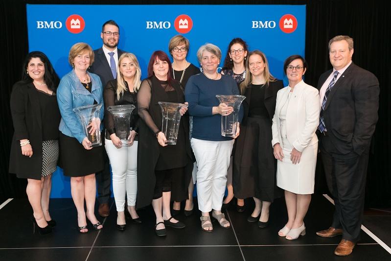 BMO reconnaît des femmes exceptionnelles à Montréal dans le cadre d'un programme national